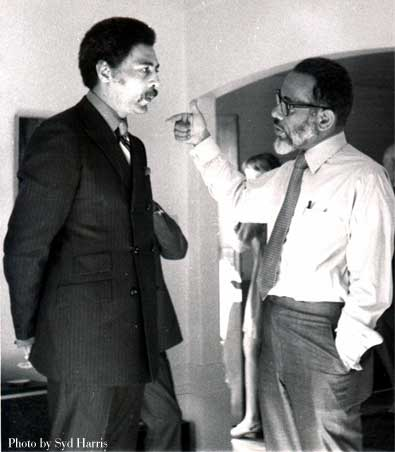 C.B. with Ron Dellums